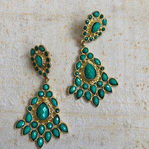 Brilliant Vintage Dangle Chandelier Earrings